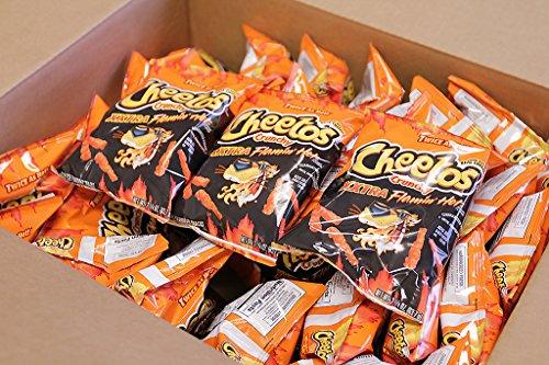 Cheetos XXtra Flamin' Hot Crunchy 2.25 Oz (Pack of 17)