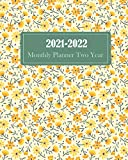 2021-2022 Monthly Planner Two Year: Two Year Monthly Planner Inspirational Quotes & Holiday • Jan 2021 to Dec 2022 • 24 Months Yearly Calendar Schedule and Organizer (Floral Yellow)
