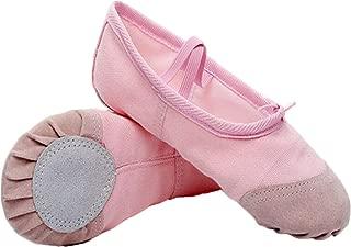mama stadt Zapatos de Baile de Lona Clásicos Zapatillas de
