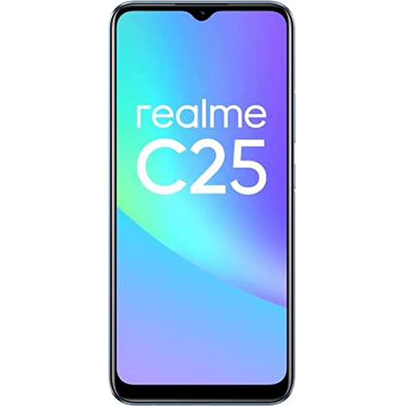 realme C25 (Watery Blue, 4GB RAM+128GB Storage) with No Cost EMI/Additional Exchange Offers