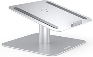Laptop Stand for Desk - RYYMX Notebook Stand : 360-Rotating Laptop Holder Compatible with 10 to 17 inch Apple MacBook Pro, Air, Dell XPS, HP, Samsung, Lenovo, Acer, Surface and Other Notebooks