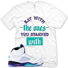 New STARVED T Shirt for Jordan 5 V Fresh Prince Grape NRG
