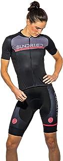 Sundried Kit de Manga Corta para Mujer Jersey de Ciclo Bici del Camino y de Bicicletas de montaña