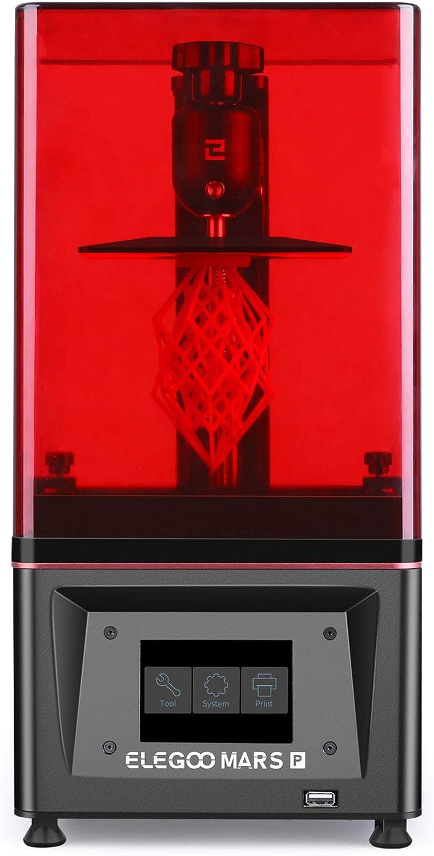 Elegoo stampante 3d lcd con sorgente di luce led uv matrix, carbone attivo incorporato IT-EL-3D-041