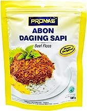 Pronas Abon Sapi - Beef Floss Original Flavor, 100 Gram (Pack of 3)