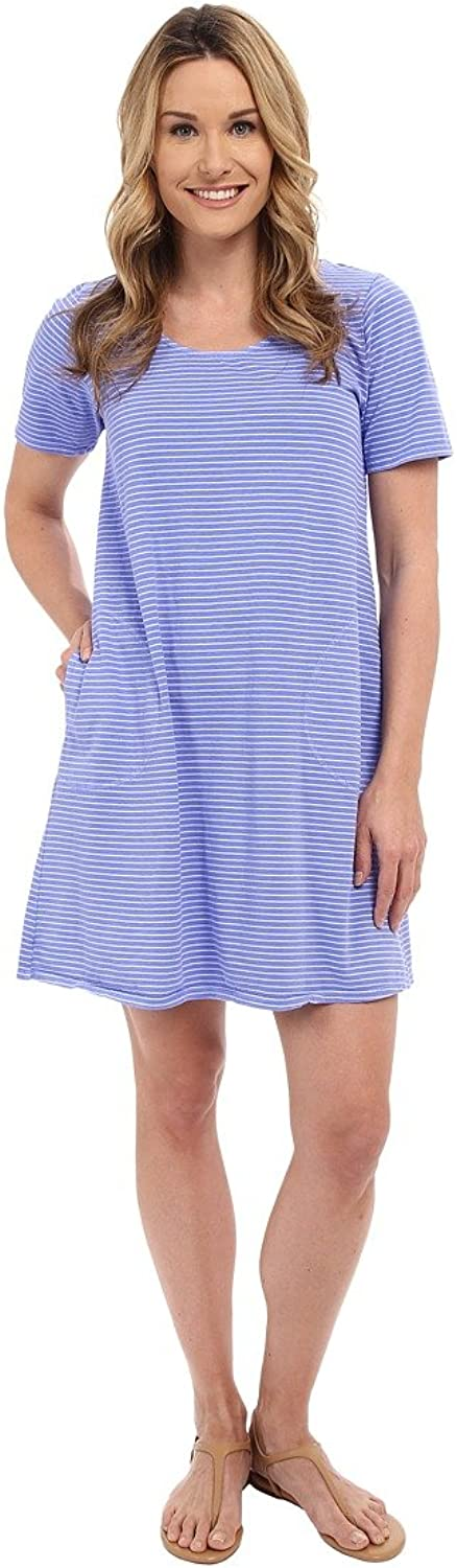 Fresh Produce Womens Pinstripe Allure TShirt Dress