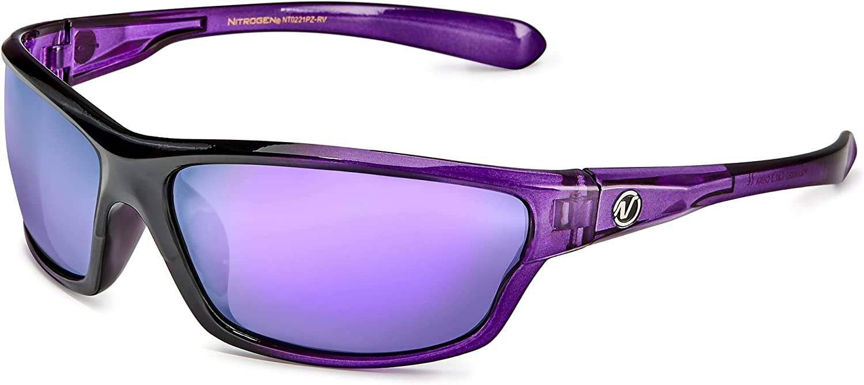 Polarized Wrap Around Sport Sunglasses for Men Women UV400 Sports Sun Glasses