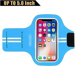 Running Sport Phone Case on Hand Phone Holder Brassard Arm Band for iPhone X XS 8 7 6 6S Xiaomi,HSK64 Blue