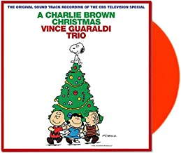 Vince Guaraldi Trio ‎– A Charlie Brown Christmas Limited Edition Red Vinyl LP [VG+/NM-Condition]