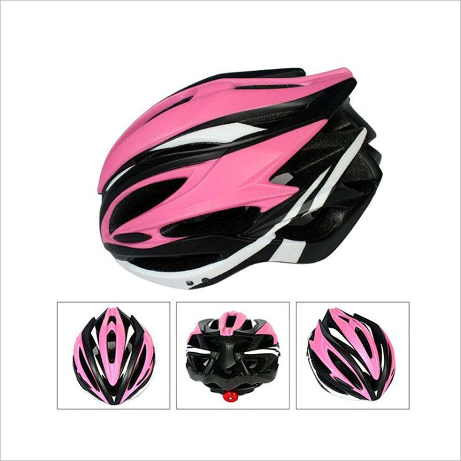 Outdoor Riding Helmet, Bicycle One Riding with Light Helmet Speed Skating Helmet Skating Helmet Predection Helmet