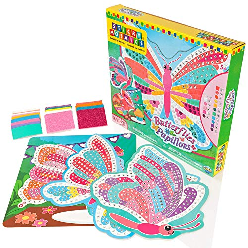 Sticky Mosaics Butterflies Craft Kit