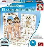 Educa Borrás- Cuerpo Humano Puzzle Educativo, Multicolor, Talla...