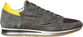 Philippe Model Luxury Fashion Mens TRLUW157 Grey Sneakers   Spring Summer 20
