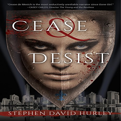 Cease & Desist audiobook cover art