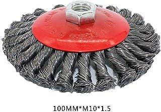 2pcs brosse de fil brosse plate outils de roue de foret pour meuleuse