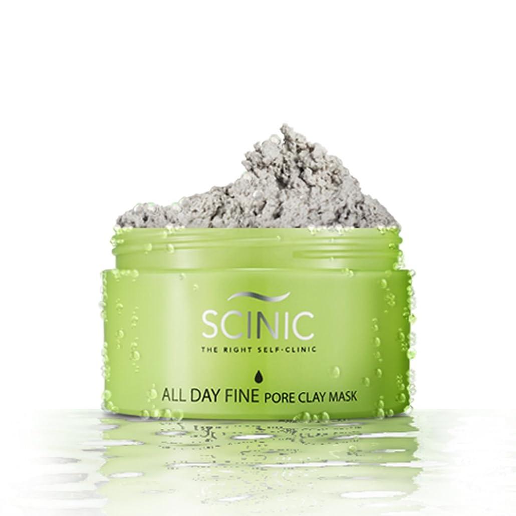 クロール天才北米Scinic SCINIC終日細孔クレイは、オールスキンタイプのマスク女性皮脂コントロール(100グラム)