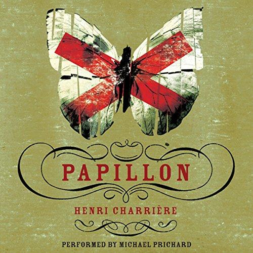 Papillon audiobook cover art