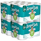 ANGEL SOFT Toilet Paper Bath Tissue, 48 Double Rolls, 260+ 2-Ply Sheets Per Roll