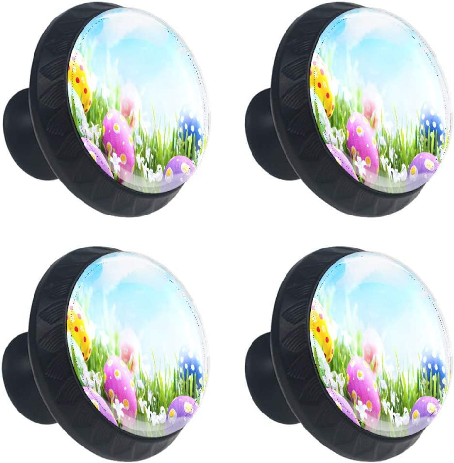 Idealiy Spring new work one after another Easter Eggs Door Chicago Mall Drawer Handle Pull Decoration Furniture