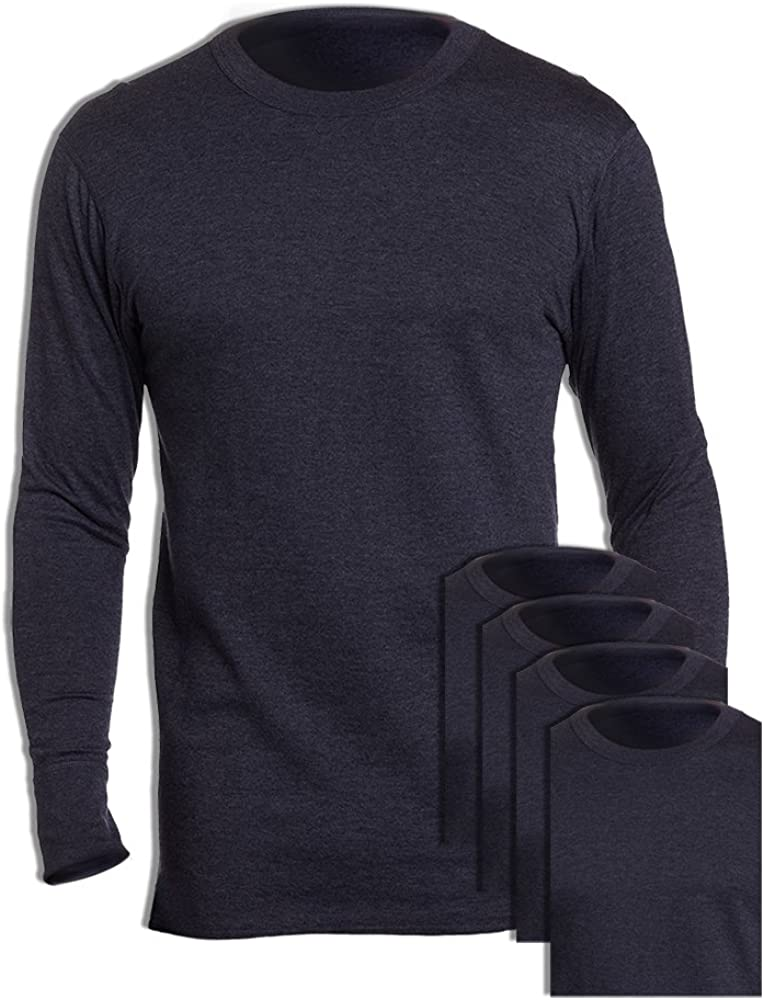 Duofold KMW1 Men's Midweight Thermal Crew Navy (Pack of 5)