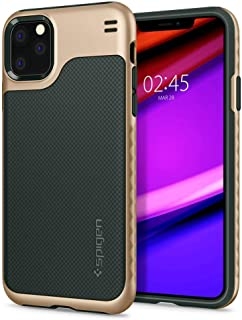 Spigen Hybrid NX Serisi Kılıf iPhone 11 Pro Max ile Uyumlu/TPU AirCushion Teknoloji/Ekstra Koruma - Metal Green