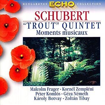 "Schubert: Piano Quintet in A Major, ""Trout"" / 6 Moments Musicaux, D. 780"