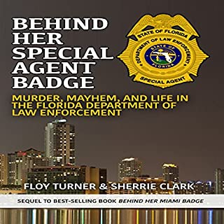 Behind Her Special Agent Badge audiobook cover art