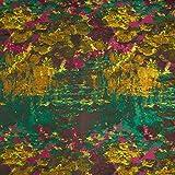 Fabulous Fabrics Jacquard grün, 140cm breit – Jacquard