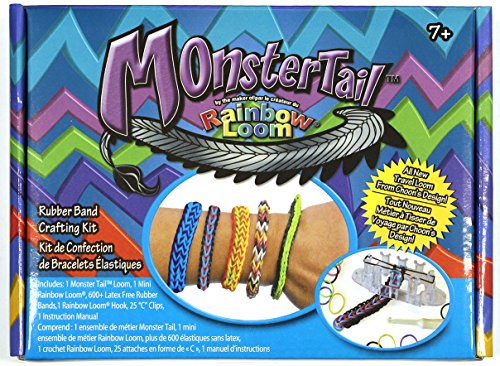 Rainbow loom 494 R0003 Queue de Monster Officiel