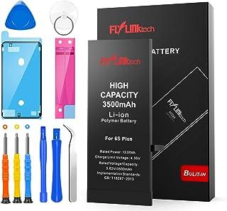 Batería para iPhone 6S Plus 3500mAH Reemplazo de Alta Capacidad, FLYLINKTECH Batería con 27% más de Capacidad Que la batería Original y con Kits de Herramientas de reparación, Cinta Adhesiva