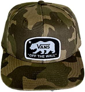 """Vans """"Off The Wall Bearing Best Camo Snapback Hat VN0A46MXCMA"""