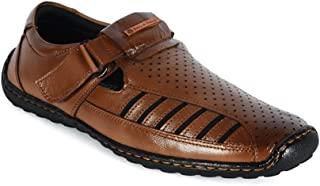 Bacca Bucci Men's Leather Sandals