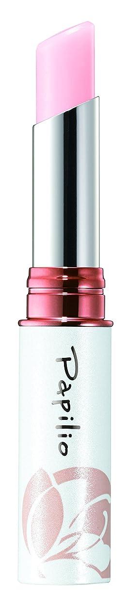 哲学的ばかグリースパピリオ(Papilio) トリートメントリップエッセンスLX1(ピンク) 唇の美容液