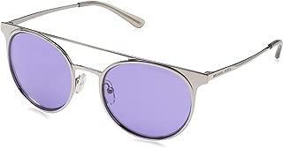 Michael Kors Sunglasse for Women, Oval, Purple (GRAYTON 11371A 52 11371A)
