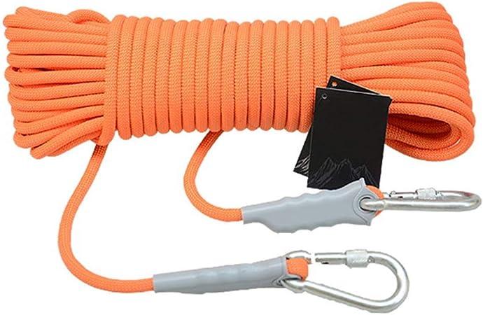 HUYYA Cuerda de Escalada estática, Cuerda de Abreso 8mm ...