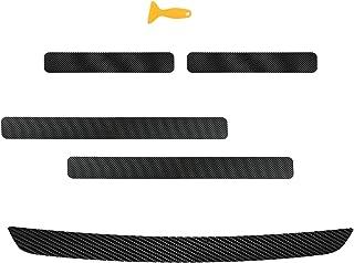 Protezione Paraurti per Auto,4 Pezzi Adesivo per Auto Guardie per Bordi della Porta Trim Striscia di Protezione per Stampaggio Protezione Antigraffio Barriere Antiurto per Porte Collisione per Porte