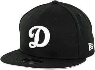 3d1d23461c7a96 New Era 950 Los Angeles Dodgers Basic D Logo Snapback Hat (BK/WH)