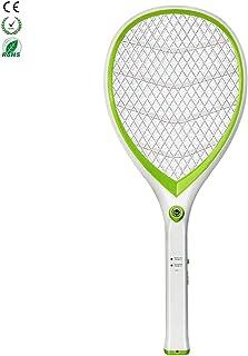 Chlry Raqueta Matamoscas electrico Recargable Mata Mosquitos, con Seguridad certificada y Luces LED, Evitar el diseño de Choque eléctrico, Seguro, antimosquitos Mata Insecto Moscas Interior