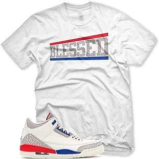 New OG BLESSED T Shirt for Jordan 3 III International Flight Charity