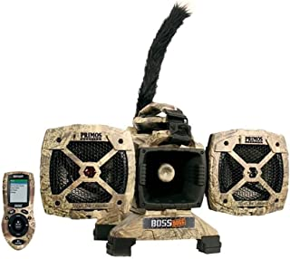 Primos Boss Dogg Predator Caller 150W 5 Speaker Call (Renewed)