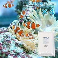Leaf Corp 人工海水 ブルーマリン 100リットル用(25リットル用×4袋・3.5kg) 人工海水