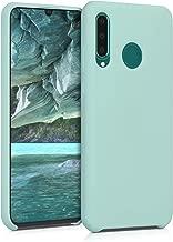 kwmobile Funda para Huawei P30 Lite - Carcasa de TPU para teléfono móvil - Cover Trasero en Menta Mate