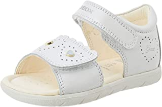 Geox B Alul Girl A, Sandales Bout Ouvert Fille
