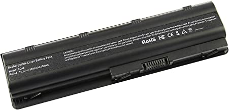 Laptop/Notebook Replacement Battery for HP Spare 593553-001, HP Compaq Presario CQ32 CQ42 CQ43, HP Pavilion dm4 g4 g6 g7 DV3-4000 DV5-2000 DV6-3000 DV7-6000, COMPAQ 435 436, fits HP MU06