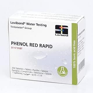 Lovibond Phenol Red Rapid Dissolve 250 Tablets
