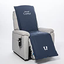 Premium Pressure Relieving Contur Cushion Overlay for Riser Recliner Chair with Pump - Pressure Ulcer/Bedsore Prevention and Treatment by Repose