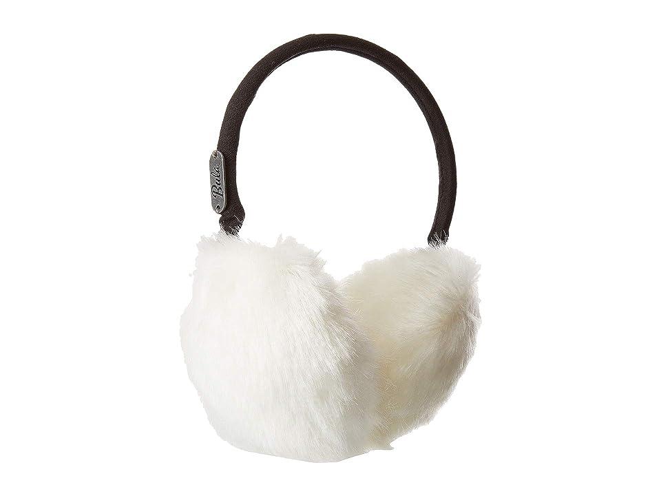 BULA Fur Earmuffs (Ivory) Knit Hats