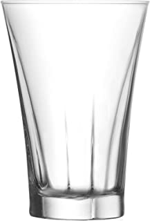 LAV Truva Highball Cocktail Lunettes Tumbler - 350ml - Lot de 6 Verres Highball pour Cocktails