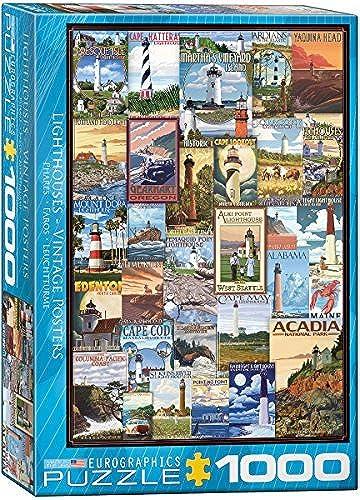 toma EuroGraphics Lighthouses Vintage ADS ADS ADS Puzzle (1000 Piece) by EuroGraphics  n ° 1 en línea