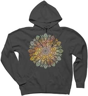 Coronae Mandala Women's Graphic Zip Hoodie